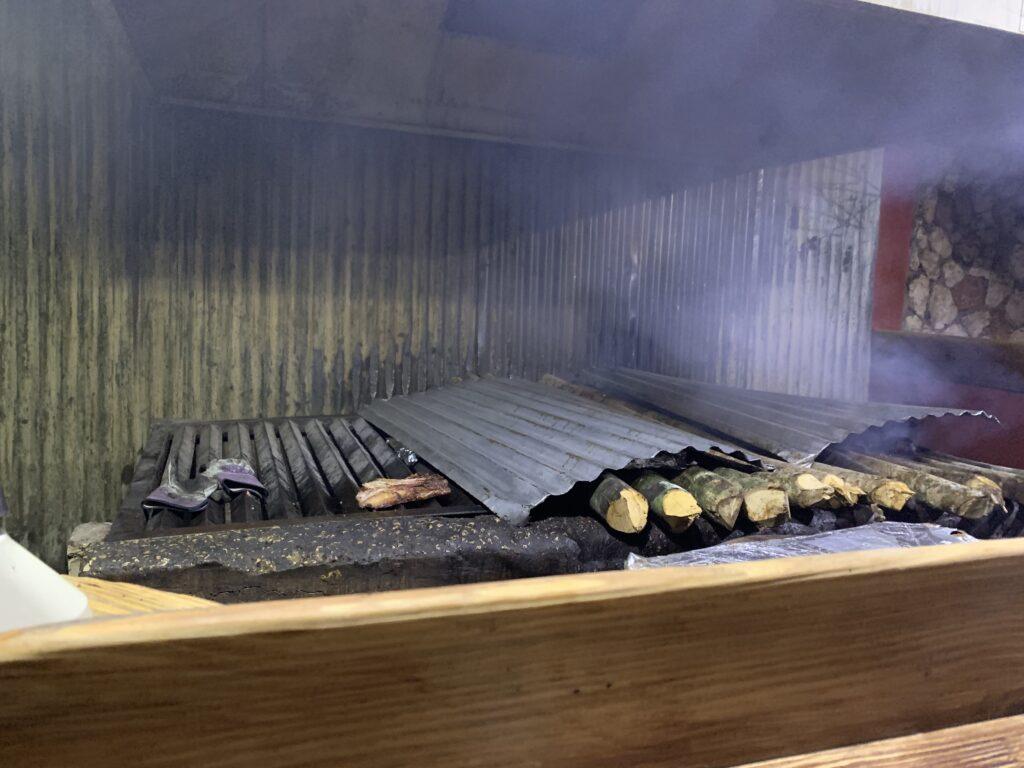 best restaurant scotchies wood fire logs
